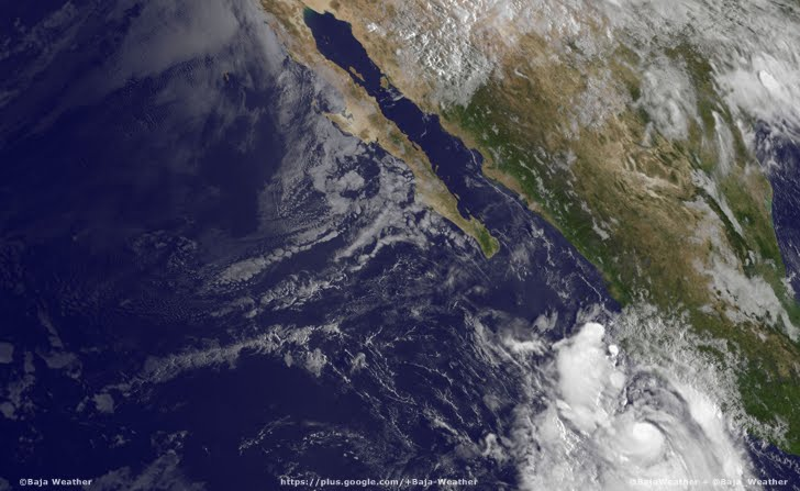 Second hurricane heads to Mexico's Pacific coast