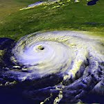 A hurricane is a form of tropical cyclone or severe tropical storm that occur in eastern Pacific Ocean,  Caribbean Sea, southern Atlantic Ocean and Gulf of Mexico
