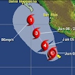 Tropical Storm Blanca to turn into hurricane
