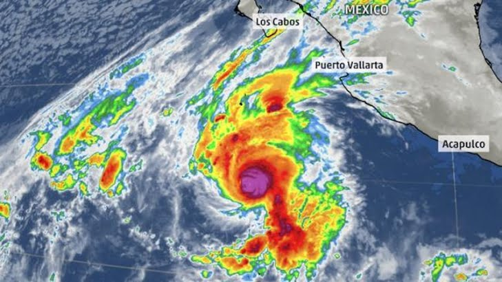 Vance became a Category 1 hurricane Sunday morning, making it the 14th hurricane of 2014 within the Eastern Pacific basin